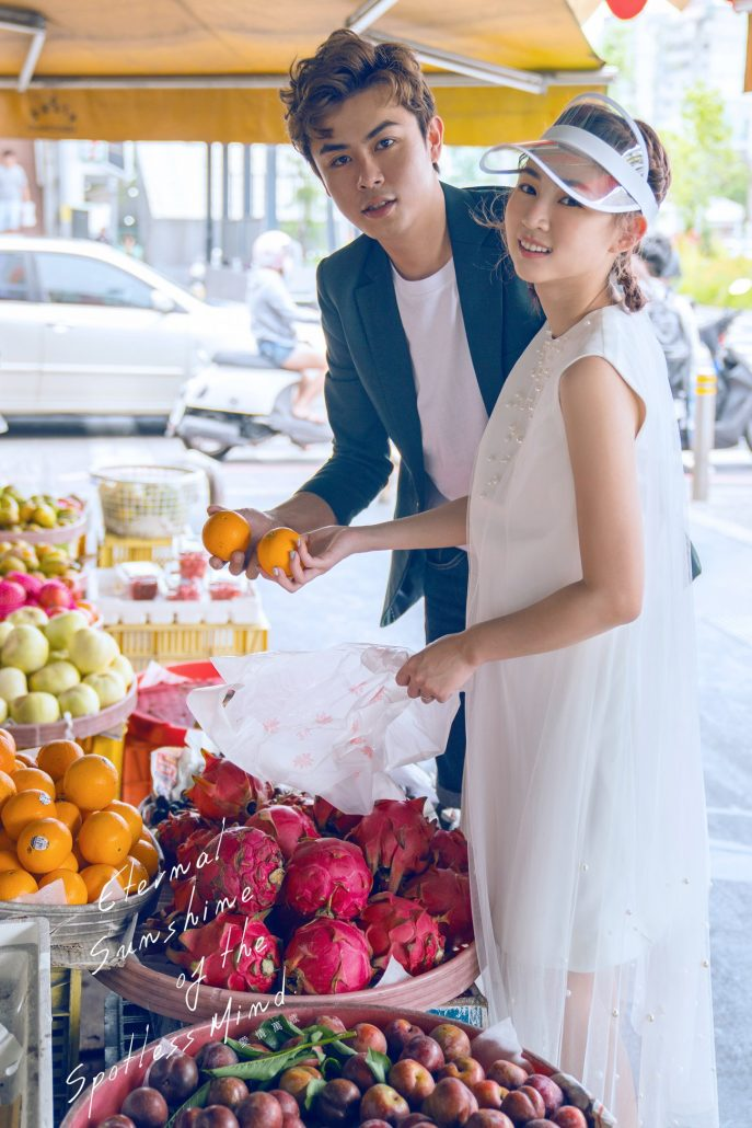 韓系婚紗 台南攝影 台南婚紗 文青婚紗 輕婚紗 情侶寫真 愛情萬歲 電影感婚紗